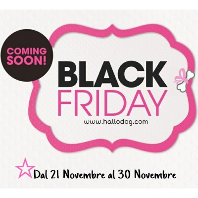 BLACK FRIDAY, approfittane!