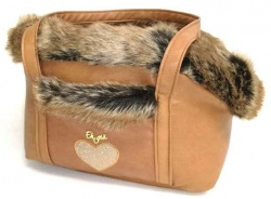 Borsa trasportino BAG AND BED (camel)