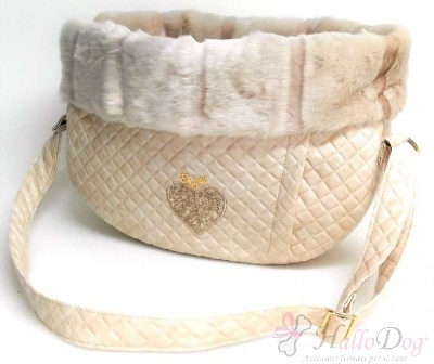 Borsa trasportino WALKING BAG WINTER (Teo Cream+Cipria)