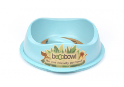 Ciotola Becobowl Slowfeed (celeste)