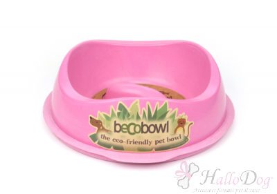 Ciotola Becobowl Slowfeed (rosa)