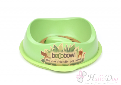 Ciotola Becobowl Slowfeed (verde)