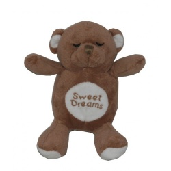 Giochino BROWN SNORING BEAR TOY