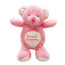 Giochino PINK SNORING BEAR TOY