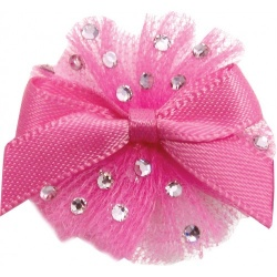 Mollettina BALLERINA HAIR BOW (fucsia)