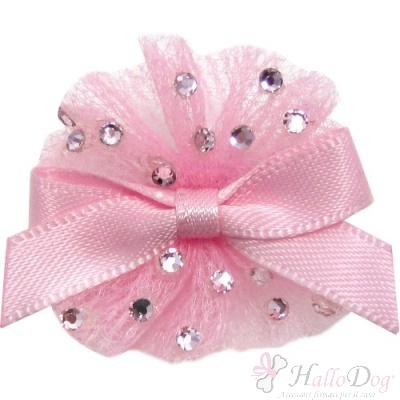 Mollettina BALLERINA HAIR BOW (rosa)