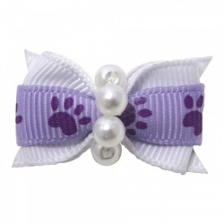 Mollettina PAW HAIR BOW (lilla)