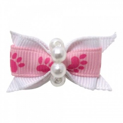Mollettina PAW HAIR BOW (rosa)