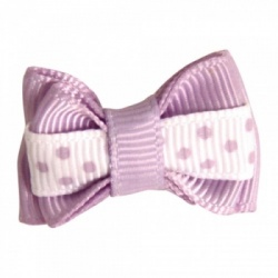 Mollettina POLKA HAIR BOW (lilla)