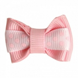 Mollettina POLKA HAIR BOW (rosa)