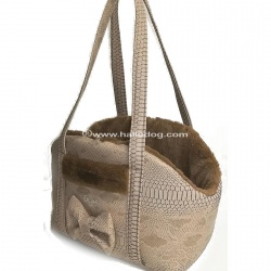 (NEW 2019) Borsa trasportino CHIC AND SPORTIVE (Snake Beige)