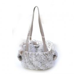 (NEW 2019) Borsa trasportino PAIETTE LACE NET