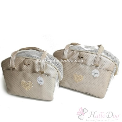 (NEW 2019) Borsa trasportino SUMMER LIFE (Points Beige)