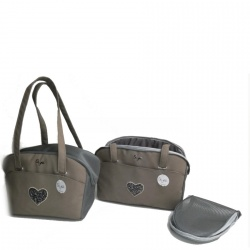 (NEW 2019) Borsa trasportino SUMMER LIFE (grigio)