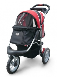 Passeggino Innopet Buggy COMFORT EFA (black & red)