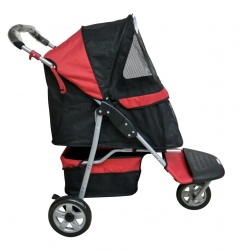 Passeggino Innopet PET BUGGY (black & red)