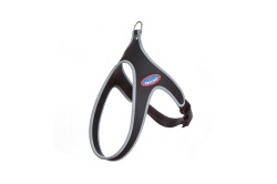 Pettorina FLY EASY WAY (nero bordo reflex)