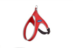 Pettorina FLY EASY WAY (rosso bordo reflex)