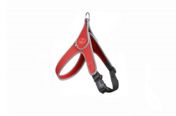Pettorina TIME EASY WAY (rosso bordo reflex)