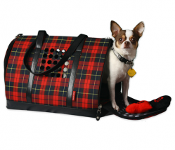 Trasportino One Barkwell Plaid (scozzese)