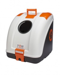 Trasportino POW (base black / top white / orange inserts)