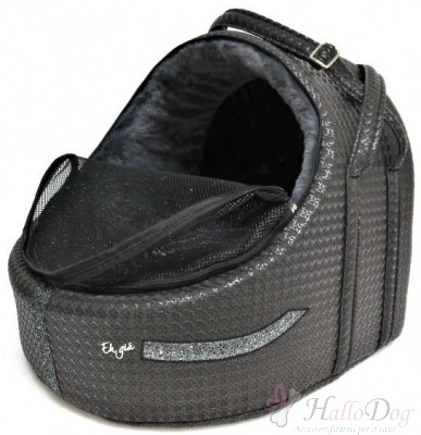 Trasportino auto GLITTY CAR IGLOO  (iron black)