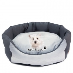 Trono ovale WEST HIGHLAND TERRIER